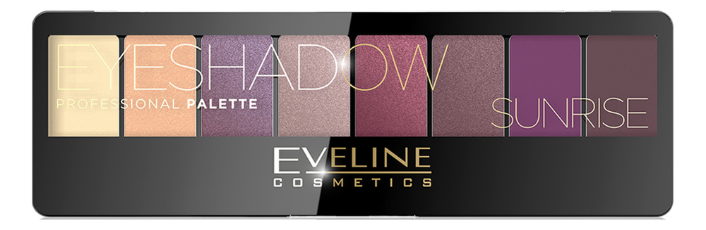 Фото - Палетка теней для век Eyeshadow Professional Palette 9,6г: 01 Sunrise палетка теней для век 32 eyeshadow palette 20г flawless
