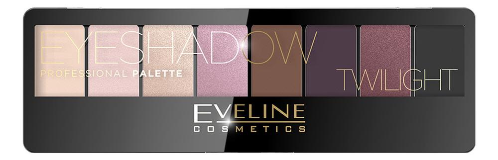 Фото - Палетка теней для век Eyeshadow Professional Palette 9,6г: 02 Twilight палетка теней для век new neutral smoked palette