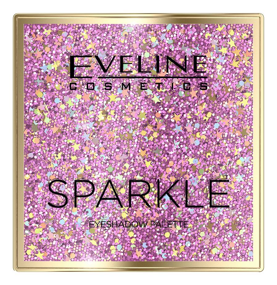 Фото - Палетка теней для век Sparkle Eyeshadow Palette 19,8г палетка теней для век new neutral smoked palette