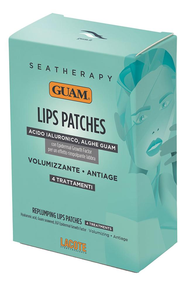 Патчи для увеличения объема губ Seatherapy Replumping Lips Patches 4шт