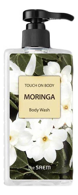 Фото - Гель для душа Touch On Body Moringa Body Wash 300мл diabet x body wash diabet x body wash 16oz 1 each 1 each