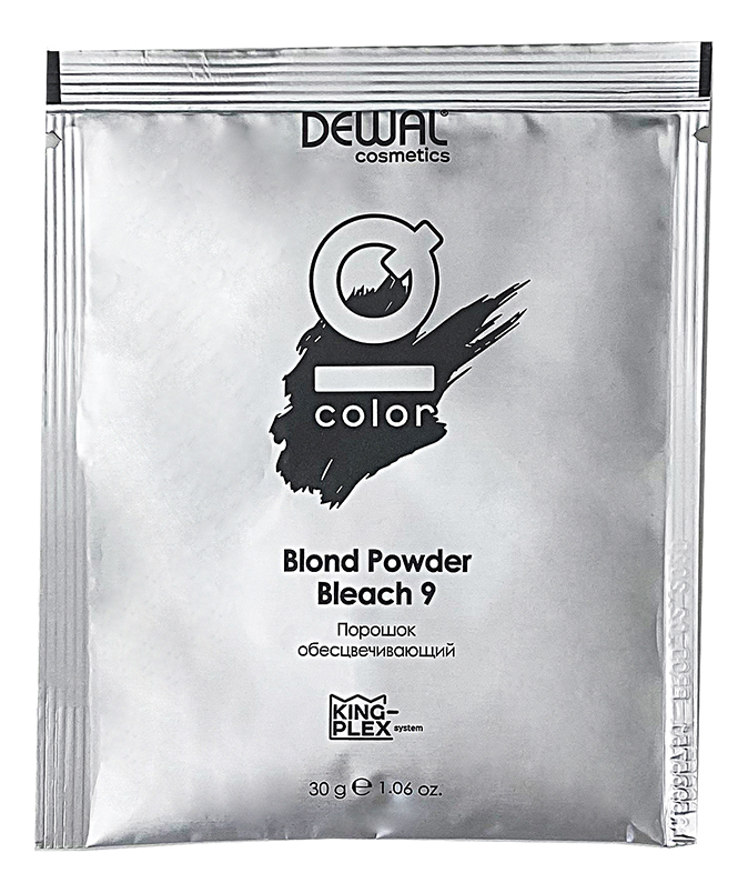 Порошок обесцвечивающий Cosmetics IQ Color Blond Powder Bleach 9: Порошок 30г порошок обесцвечивающий cosmetics iq color blond powder bleach 9 750г порошок 750г