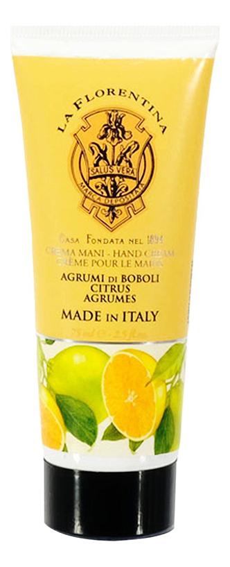Крем для рук Agrumi Di Boboli Crema Mani 75мл boboli 443146