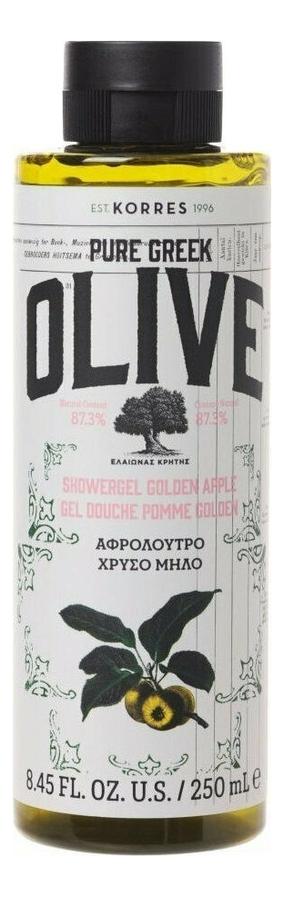 Гель для душа Pure Greek Olive Showergel Golden Apple 250мл (яблоко) korres korres pure greek olive showergel honey гель для душа с медом 250 мл