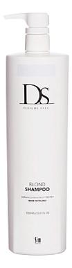 Шампунь для светлых и седых волос DS Blonde Shampoo: Шампунь 1000мл шампунь для светлых и седых волос ds blonde shampoo шампунь 250мл