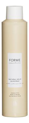 Купить Лак для волос средней фиксации Forme Essentials Natural Hold Hairspray 300мл, Sim Sensitive