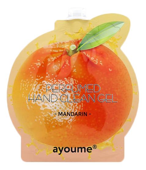 Парфюмерный гель для рук Perfumed Hand Clean Gel Mandarin 20мл (мандарин)