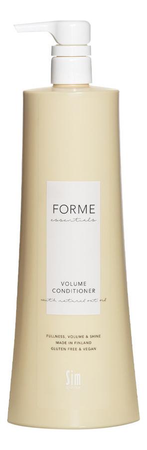 Кондиционер для объема волос Forme Essentials Volume Conditioner: Кондиционер 1000мл кондиционер для объема волос ds volume conditioner кондиционер 50мл