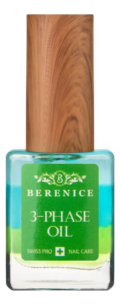 Трехфазное масло для ногтей и кутикулы Nail & Cuticle 3-Phase Oil 15мл