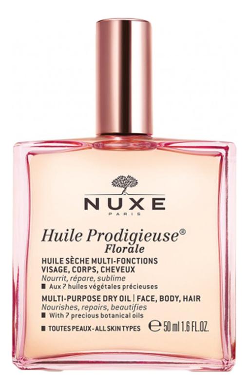 Цветочное сухое масло Huile Prodigieuse Florale: Масло 50мл масло nuxe отзывы