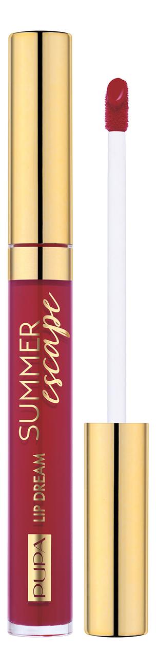 Жидкая помада для губ Summer Escape Lip Dream 4,5мл: 3 Cherry Juice