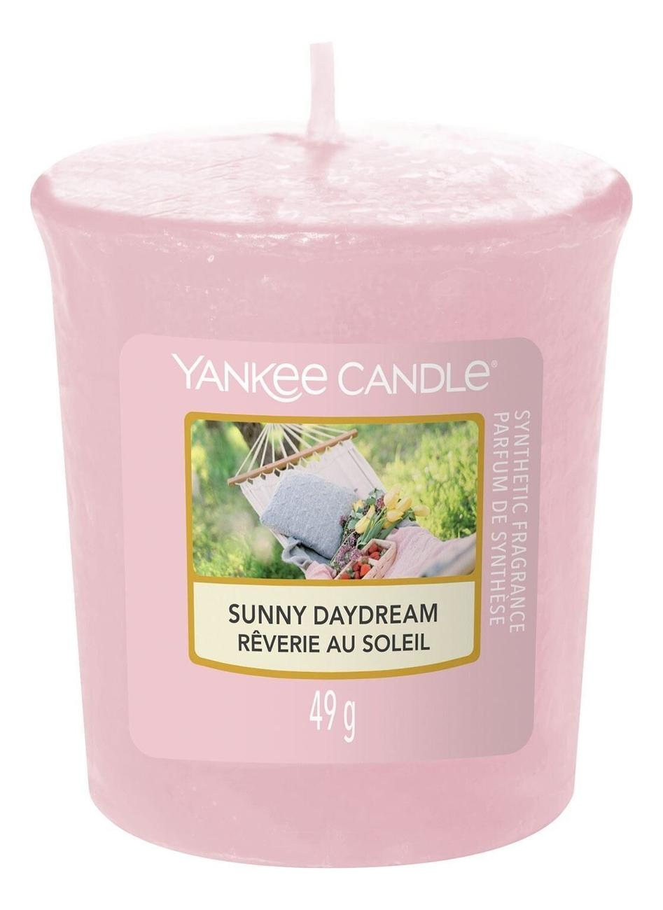 Купить Ароматическая свеча Sunny Daydream: Свеча 49г, Yankee Candle