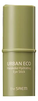 Бальзам-стик для кожи вокруг глаз Urban Eco Harakeke Hydrating Eye Stick 7г трехфазное средство для увлажнения the saem the essential triplus hydrating ampoule 30мл