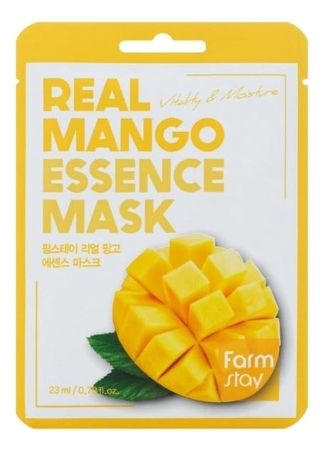 Фото - Тканевая маска для лица с экстрактом манго Real Mango Essence Mask 23мл: Маска 5шт sephora collection wild wishes маска для рук с манго
