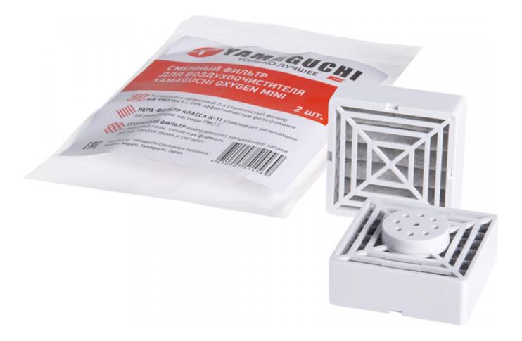 сменный блок к электрическому ароматизатору ария aria oxygen 20мл воздух Сменный фильтр для воздухоочистителя Oxygen Mini (2шт)