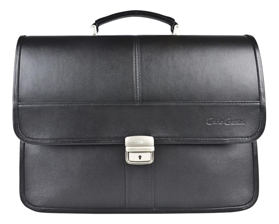 Купить Портфель Monterado Black 2031-01, Carlo Gattini