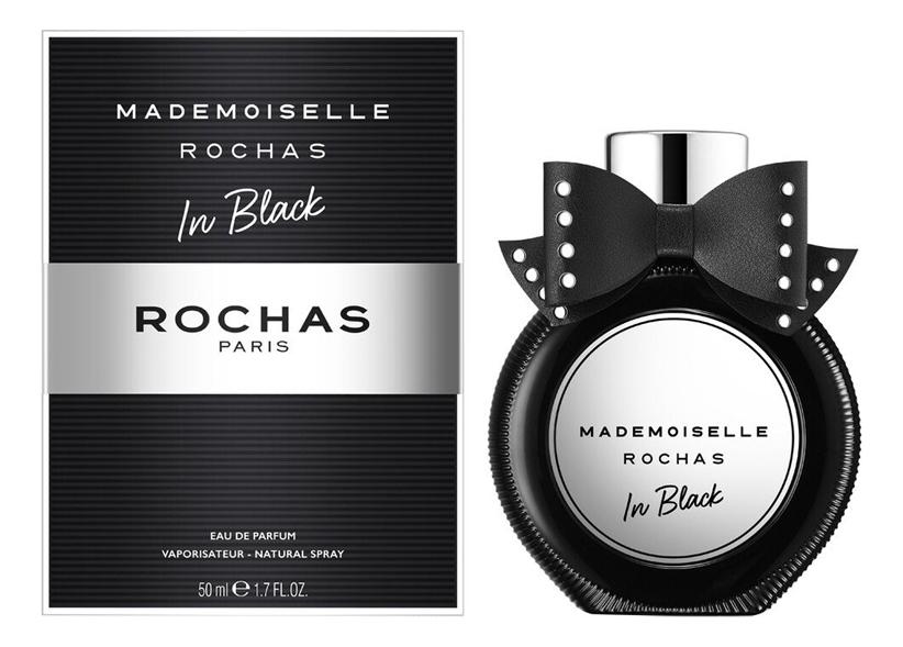 Фото - Mademoiselle Rochas In Black: парфюмерная вода 50мл cascade парфюмерная вода 50мл