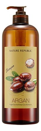 Увлажняющий шампунь для волос Argan Essential Deep Care Shampoo: Шампунь 1000мл