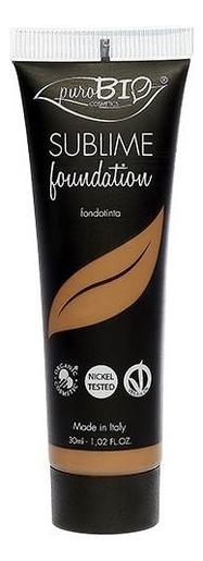 Купить Тональный крем для лица Sublime Liquid Foundation 30мл: No 07, puroBIO