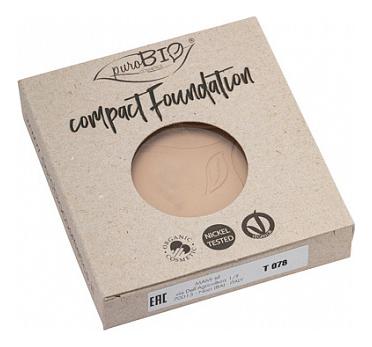 Компактная тональная основа для лица Compact Foundation 9г: No 01 (запасной блок) недорого