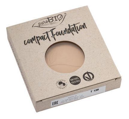 Купить Компактная тональная основа для лица Compact Foundation 9г: No 02 (запасной блок), puroBIO
