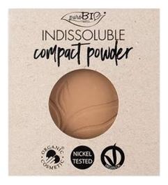 Купить Пудра для макияжа лица Indissoluble Compact Powder 9г: No 04 (запасной блок), puroBIO