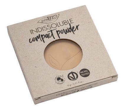 Купить Пудра для макияжа лица Indissoluble Compact Powder 9г: No 03 (запасной блок), puroBIO