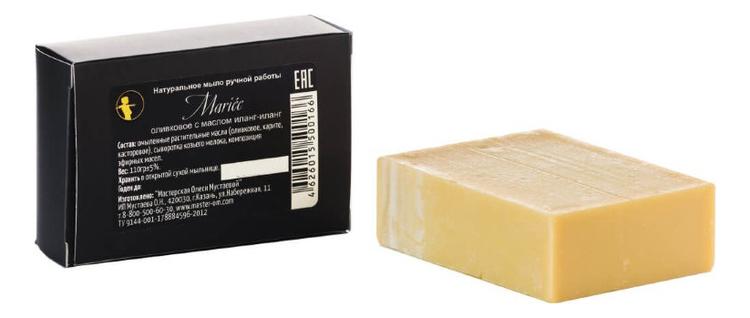 Купить Натуральное оливковое мыло с маслом иланг-иланга ручной работы Мariee 110г, Мастерская Олеси Мустаевой