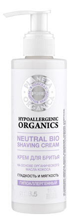 Купить Крем для бритья Гладкость и мягкость Neutral Bio Shaving Cream 200мл, Planeta Organica