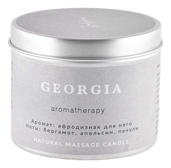 Ароматическая свеча для аромамассажа Грузия: Свеча 200мл