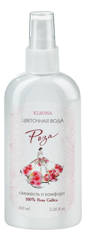 Купить Цветочная вода Роза: Вода 100мл, KLEONA
