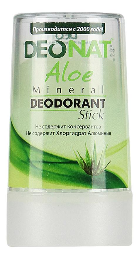 Дезодорант-кристалл с соком алоэ вера Aloe Mineral Deodorant Stick: Дезодорант 40г