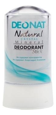 Дезодорант-кристалл Natural Crystal Mineral Deodorant Stick: Дезодорант 60г