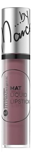 Гипоаллергенная матовая помада Hypoallergenic Mat Liquid Lipstick 3г: No 4