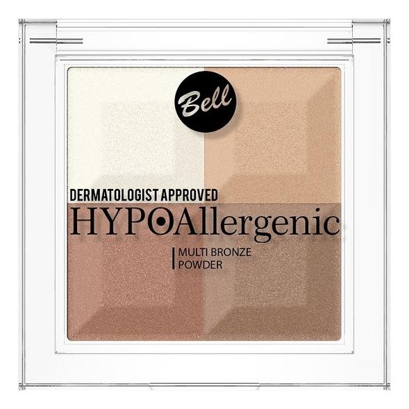 Пудра с бронзирующим и осветляющим эффектом Hypoallergenic Multi Bronze Powder 5г: No 1