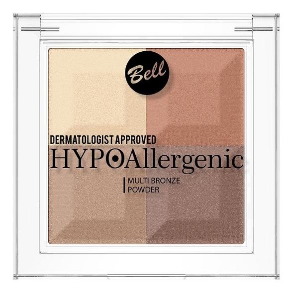 Пудра с бронзирующим и осветляющим эффектом Hypoallergenic Multi Bronze Powder 5г: No 3