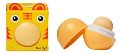 Бальзам для губ с ароматом банана Lip Balm Banana 7г: В коробке недорого