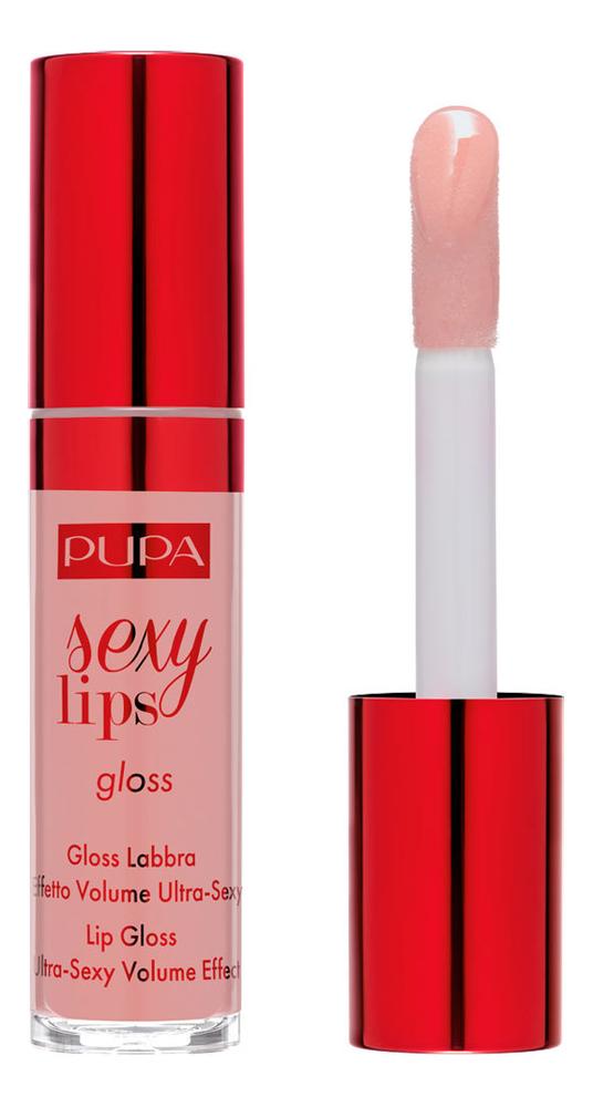 Блеск для губ Sexy Lips Gloss 5мл: No 001 блеск для губ shimmering gloss 7 5мл no 25