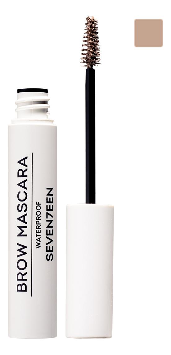 Фото - Тушь для бровей водостойкая Brow Mascara Waterproof 5мл: No 01 тушь для бровей brow revival densifying brow mascara 4мл 005 black brown