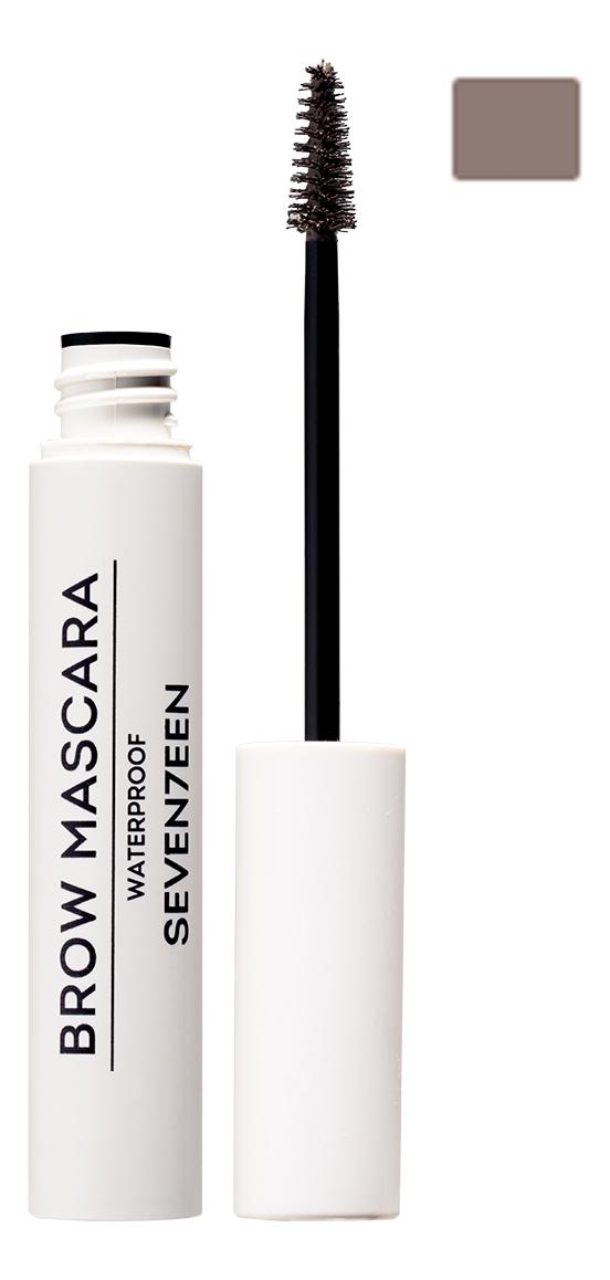 Фото - Тушь для бровей водостойкая Brow Mascara Waterproof 5мл: No 06 тушь для бровей brow revival densifying brow mascara 4мл 005 black brown