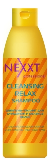 Шампунь-пилинг для очищения и релакса волос Cleansing Relax Shampoo: Шампунь 1000мл недорого