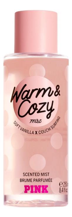 Парфюмерный спрей для тела Warm & Cozy Body Mist 250мл парфюмерный спрей для тела coconut passion body mist спрей 75мл