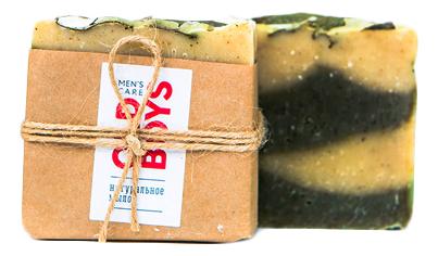 Купить Натуральное мыло с экстрактом имбиря и эвкалипта Men's Care Old Boys 110г, Краснополянская косметика
