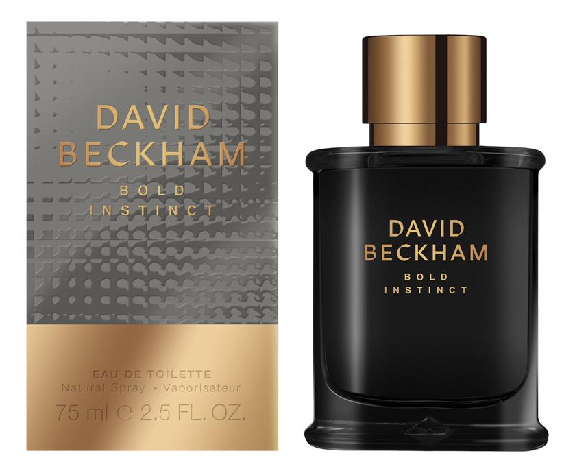 David Beckham Bold Instinct: туалетная вода 75мл туалетная вода david beckham instinct 50 мл