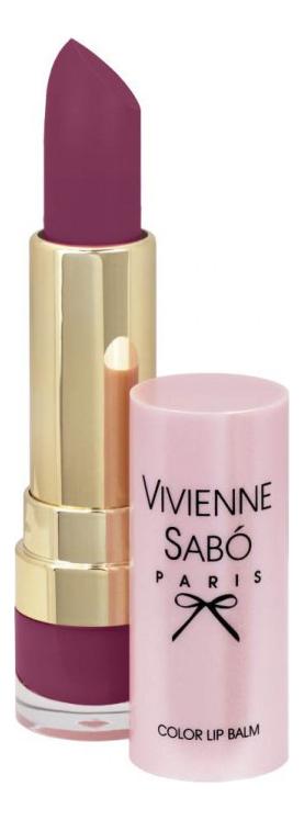 Помада-бальзам для губ Baume A Levres: No 05 vivienne sabo помада бальзам lipstick balm baume a levres тон 05 3 мл