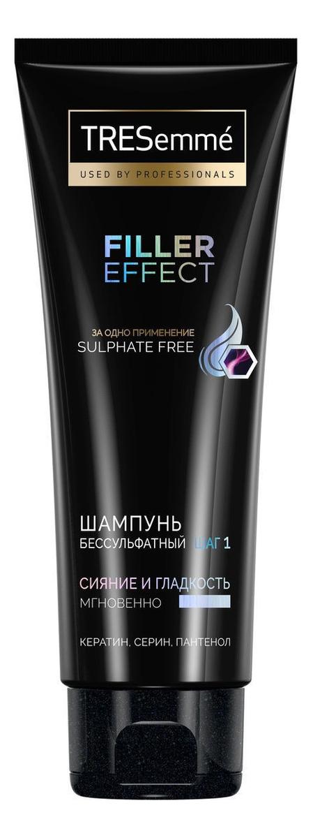 Купить Шампунь для волос бессульфатный Filler Effect: Шампунь 200мл, TRESemme