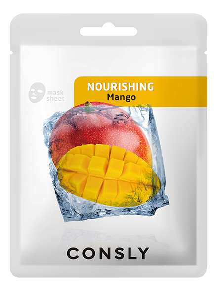 Питательная тканевая маска для лица с экстрактом манго Mango Nourishing Mask Pack 20мл: Маска 1шт недорого