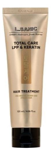 Маска для комплексного ухода за волосами Total Care LPP & Keratin Hair Treatment 120мл