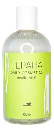 Мицеллярная вода с ароматом лайма Micellar Water Lime: Мицеллярная вода 300мл