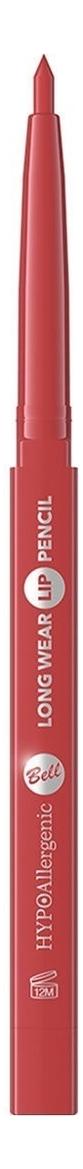 Стойкий карандаш для губ Hypoallergenic Long Wear Lip Pencil 1,2г: 04 Classic Red